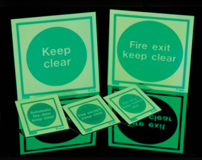 Jalite Fire Safety Signs Products.