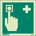 4393C - Jalite First Aid Call Point Sign
