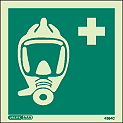 4394C - Jalite Breathing Apparatus Sign