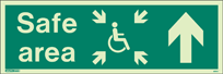 4651U - Jalite Fire Exit Double Sided Sign