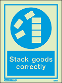 5022D - Jalite Stack goods correctly Sign