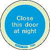 5123O - Close this door at night Sign