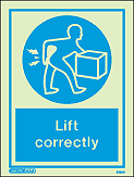 5130D - Jalite Lift Correctly Sign