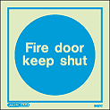 5421C - Jalite Fire Door Keep Shut Sign