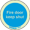 5421O - Jalite Fire Door Keep Shut Sign