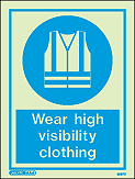 5567D - Jalite Wear high visibility clothing Sign