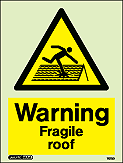 7073D - Jalite Warning Fagile Roof Sign