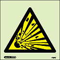 7137C - Jalite Warning Explosive Risk Sign