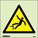 7533C - Jalite Warning Risk of Falling Sign