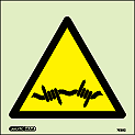 7535C - Jalite Security Warning Barbed Wire Signs