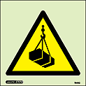 7540C - Jalite Warning Overhead Loads Sign
