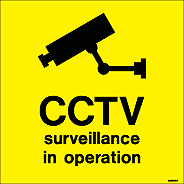 7424D - Jalite Security Warning - CCTV Operation