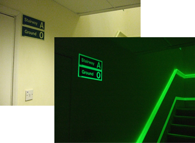Jalite Stairway & Floor Identification Fire Safety Signs